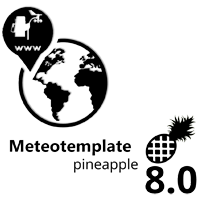 Meteotemplate 8.0 Pineapple