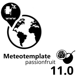 Meteotemplate 11.0 Passion Fruit