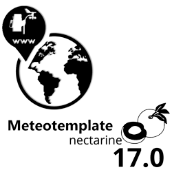 Meteotemplate 17.0 Nectarine